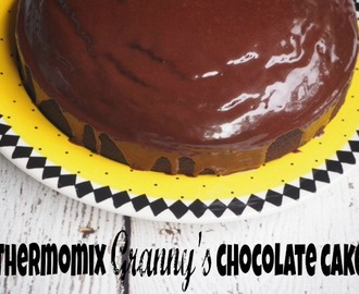 Thermomix 'Grannys' chocolate cake (guest post)