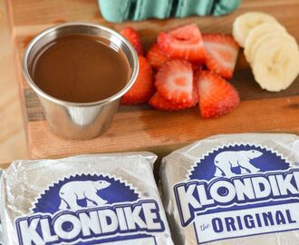 Strawberry Banana Klondike Bar Recipe | Treating Myself More – Target Ice Cream Sale! #MoreTreats