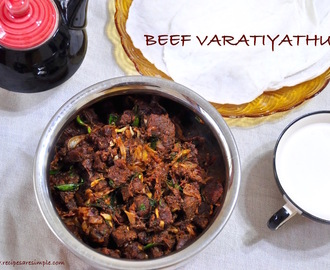 Beef Varattiyathu – Simple Kerala Recipe