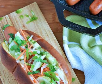 Banh Mi Hot Dog #SundaySupper