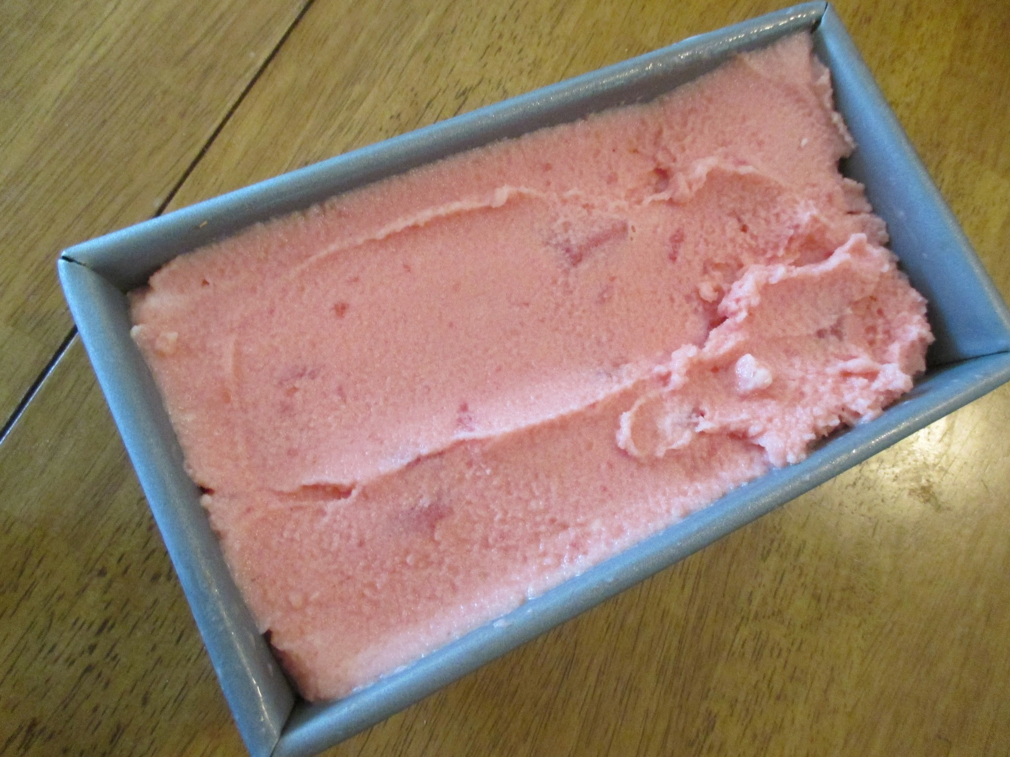 2 Ingredient Watermelon Sherbet