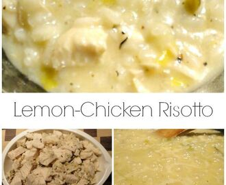 Lemon Chicken Risotto Recipe –  Made From Leftovers!
