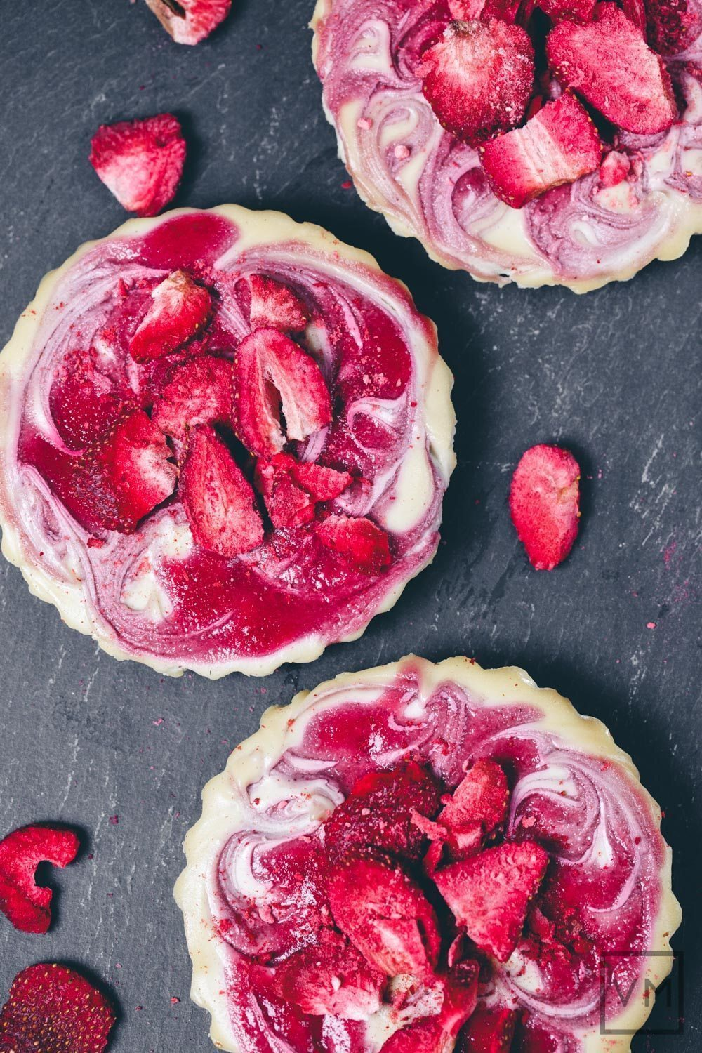 Strawberry Swirl Cheesecake from Decadent Gluten-Free Vegan Baking + Giveaway (US and Canada)
