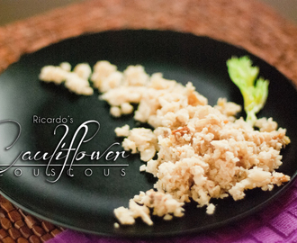 Cauliflower Couscous by Ricardo Cuisine
