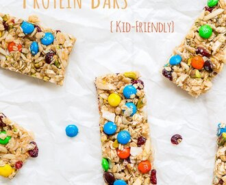 No Bake Protein Bars {kid-friendly}