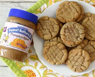 Pumpkin Spice Peanut Butter Cookies + Giveaway #PSiloveyou