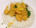 Malabar Shrimp Curry (and hello again!)
