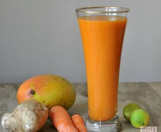 Mango Carrot Apple Smoothie/Strength and book review