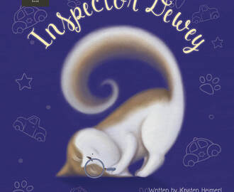Children's Book Review:  Inspector Dewey Review and Book Tour Prize Giveaway