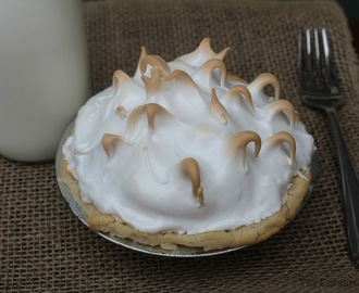 Grandma's Lemon Meringue Pie/#SundaySupper