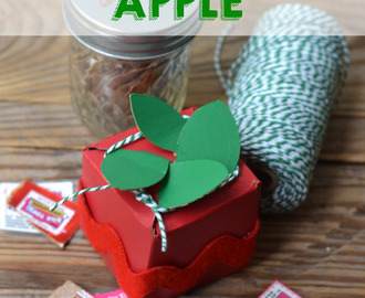 Cereal Box Apple | Kid Craft