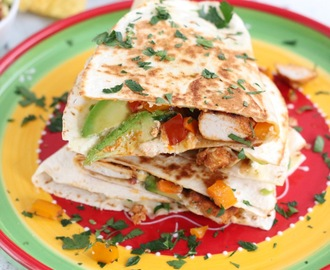 Mexicaanse Quesadillas met Kip en Avocado