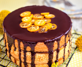 Jaffa Cake – Chocolate and Orange Layer Cake