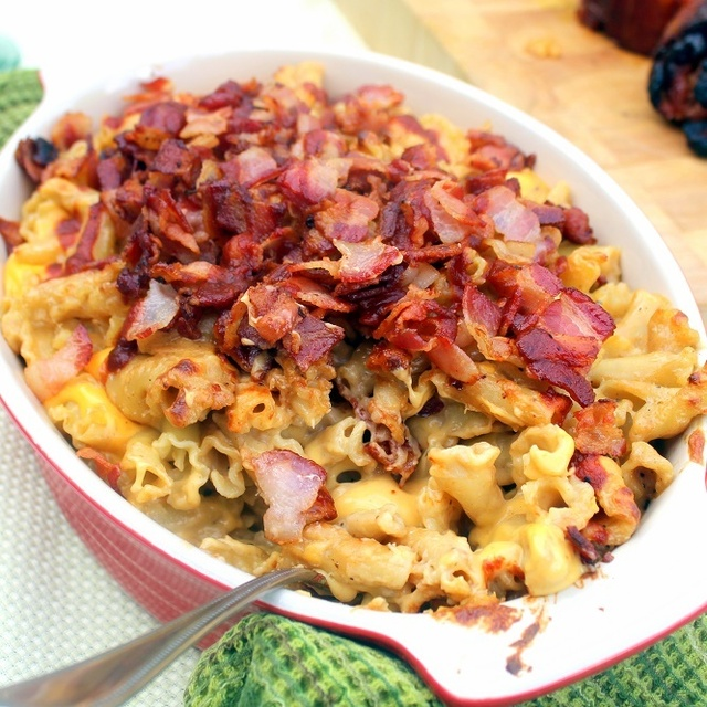 BACON BACON BACON Spicy Jack Daniel's Mac and Cheese - 52 Church PotLuck Side Dish