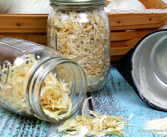 Storing the Harvest: DIY Onion Flakes and Onion Powder