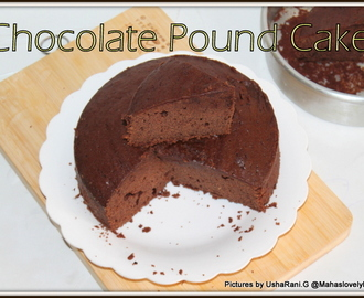chocolate pound cake | perfect chocolate pound cake | Easy chocolate pound cake | Moist and best chocolate pound cake with step by step pictures
