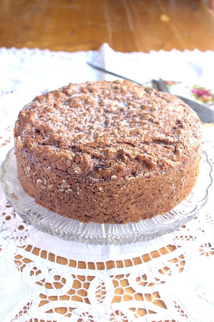 Apple Cider Pecan Cake