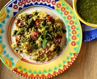 Quinoa with Chimichurri Sauce