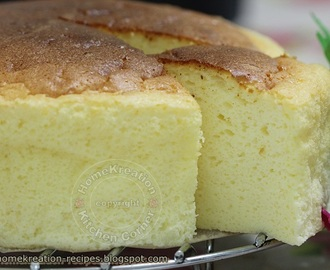 Three-Ingredient Japanese Cotton Cheesecake