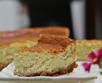Soft Durian Cheesecake II