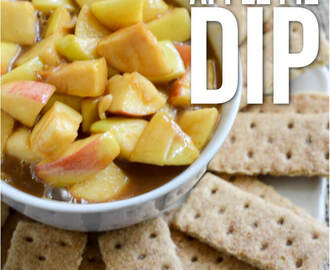 Crockpot Caramel Apple Pie Dip