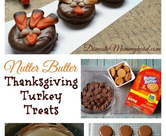 New Nutter Butter Sandwich Cookie Thanksgiving Turkey Treats