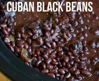 Crockpot Cuban Black Beans
