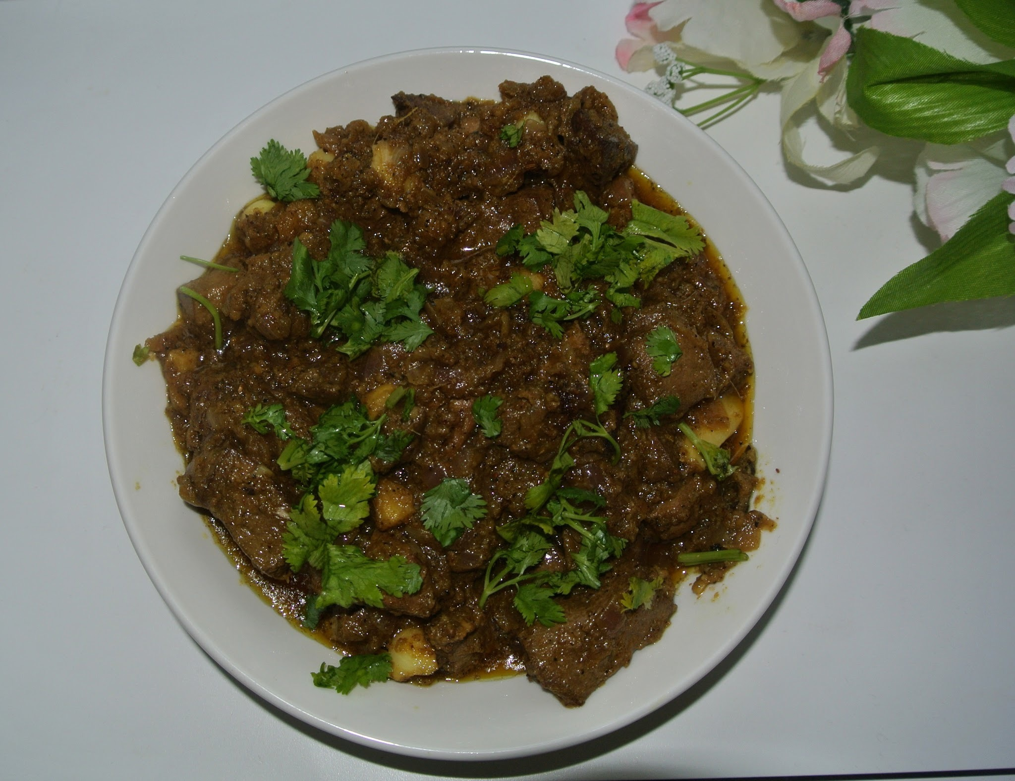 Mutton Liver Fry / Eeral Varuval
