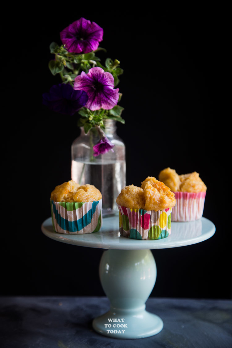 Kue Moho Ubi (Steamed Sweet Potato Cupcake)