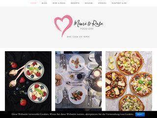 Mimi Rose Food Love