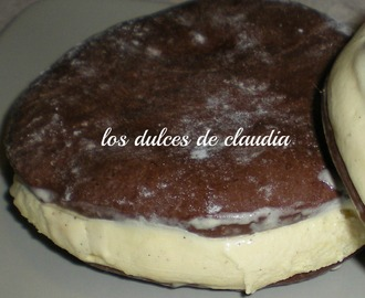 Sandwich de galleta con helado