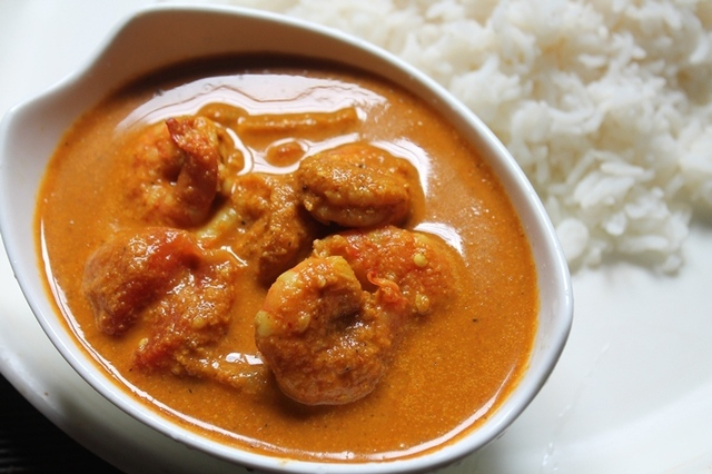 South Indian Coconut Prawn Curry Recipe