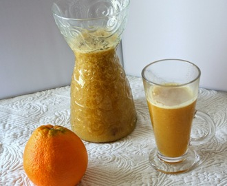 Jus d'orange chaud épicé (Hot spicy orange juice)