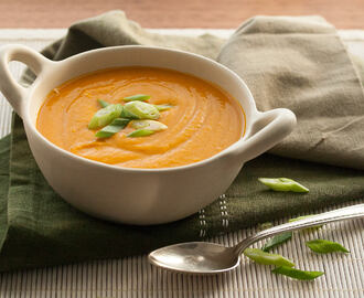 Miso Happy: Kabocha Squash Soup with Miso and Maple