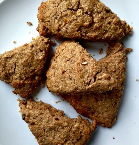 SRC - Brown Sugar Oat Scones