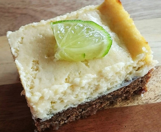 Gastblog: Key lime pie is nét cheesecake maar dan anders