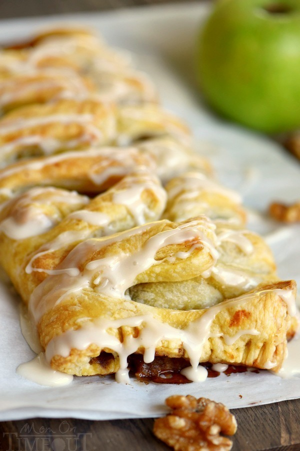 Apple Walnut Strudel