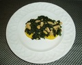 Polenta with Kale and Cannellini