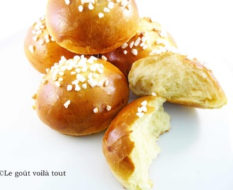 Mini brioches au lait