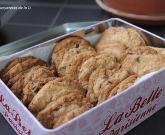GALLETAS CON PEPITAS DE CHOCOLATE (THERMOMIX)