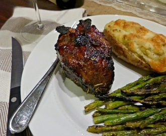 What's For Dinner Wednesday: Balsamic Fig Grilled Lamb Chops