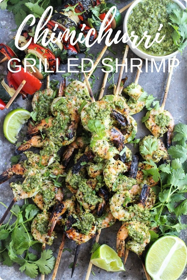 Chimichurri Grilled Shrimp Recipe