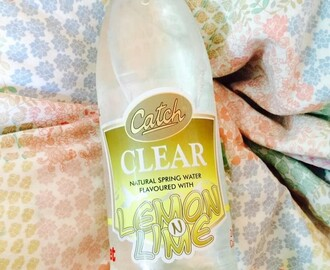 My Summer Drink : Catch Clear Natural Spring Water Flavoured With Lemon N Lime