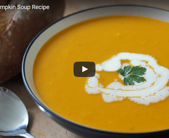 Roasted Pumpkin Soup Recipe Video