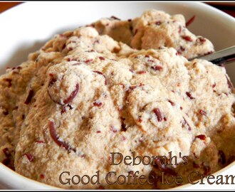 Deborah's -{Excellent, Amazing, Simply Awesome, Really Good}- Coffee Ice Cream