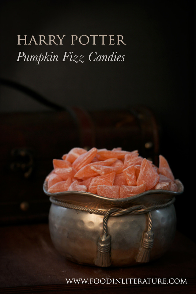 Pumpkin fizz candies | Harry Potter