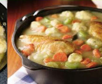 Dutch Oven Chicken & Dumplings