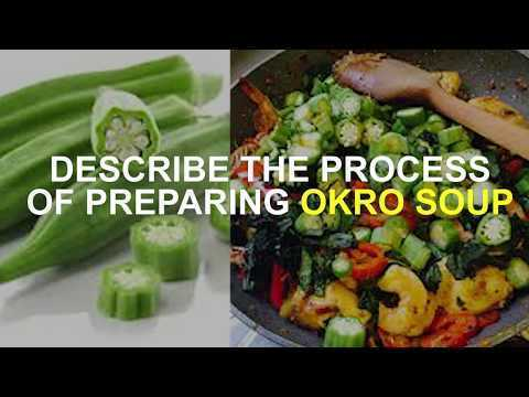 STREET CHEF: HOW TO COOK OKRO SOUP-EP.2