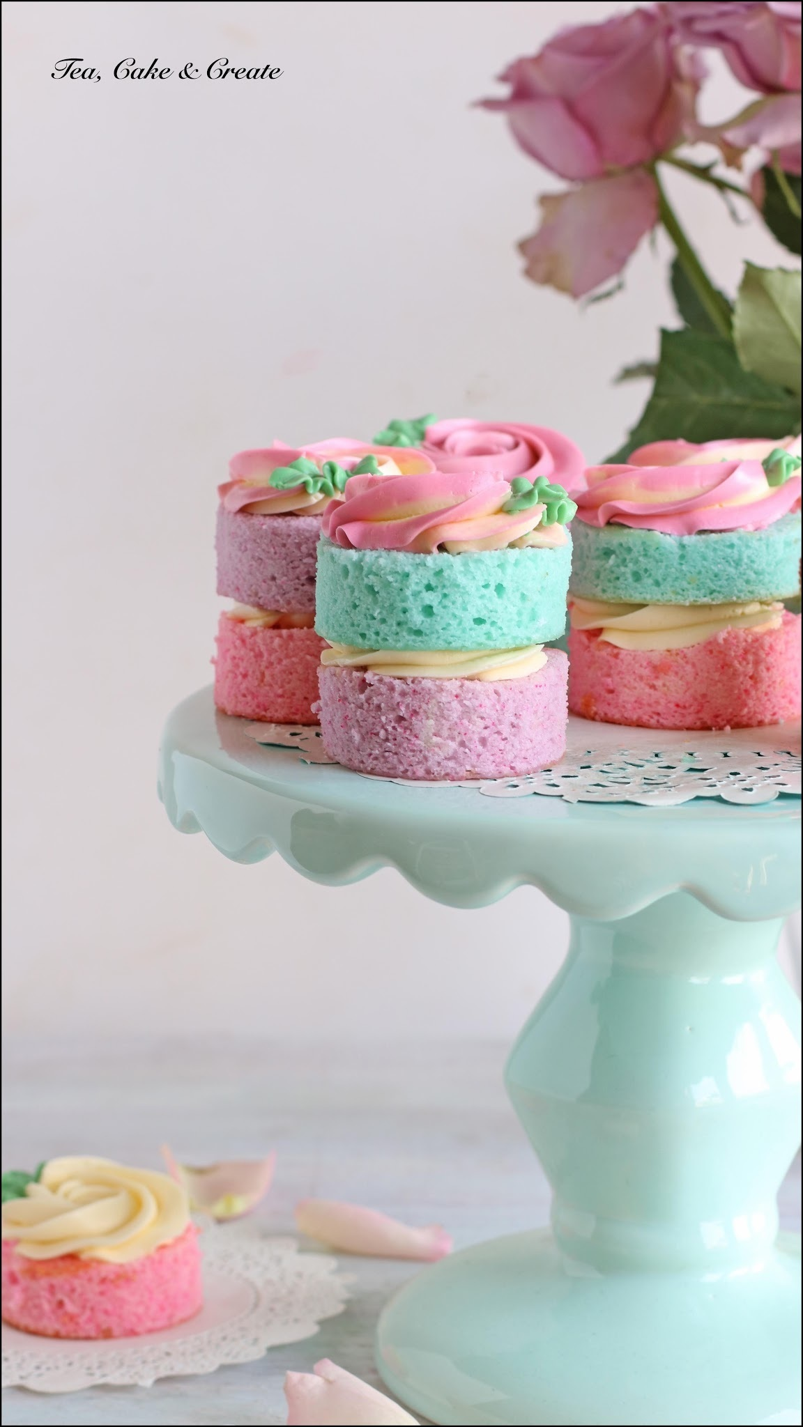 Spring Themed Mini-Cakes