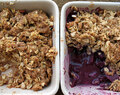Wheat free Fruit Crumble